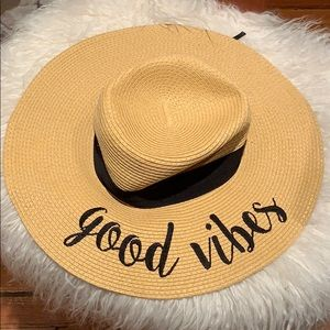 Accessories - Good Vibes Beach Hat